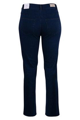 BRANDTEX - Ingrid Denim Jeans - High Waist - Mørk Denim