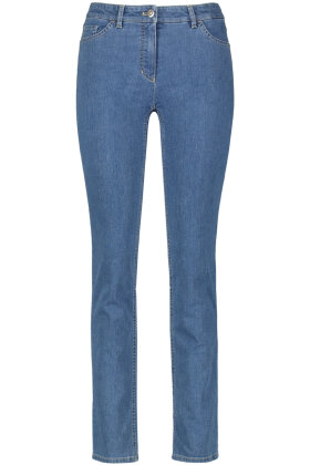 GERRY WEBER - Best4me Jeans - Regular Straight Fit - Denim