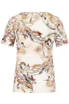 GERRY WEBER - T-shirt - Floralt Print - Rosa