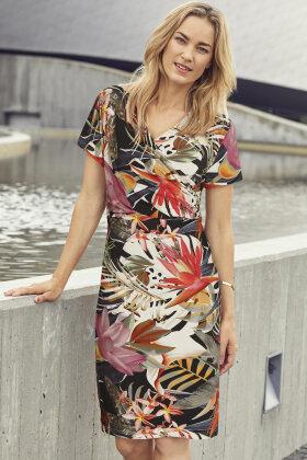 BRANDTEX - Kjole - Floralt Print - Dame