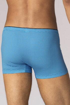 MEY : MÆND - Herre Boxer Tights - Serie Fashion Mønster - Blå