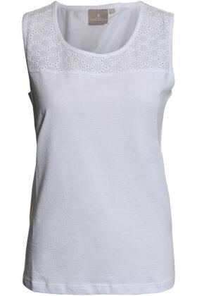 BRANDTEX - Sol Top - Camisole - Hvid