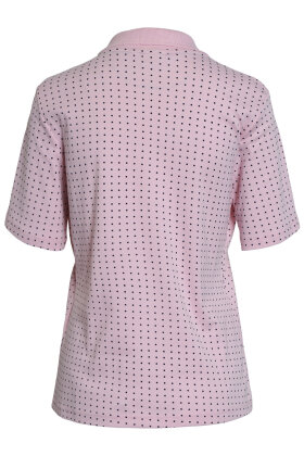 BRANDTEX - Polo Shirt - Rosa - Prikket