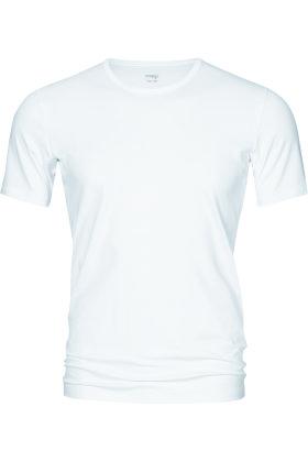 MEY : MÆND - Rund Hals Undertrøje - Serie Dry Cotton Functional - Hvid