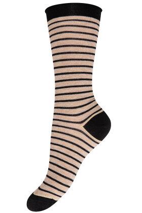 DECOY - Finstrikket Ankelsokker - Ankle Socks - Sort