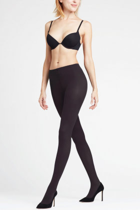 FALKE - Pure Matt Tights 50 Denier - Sort