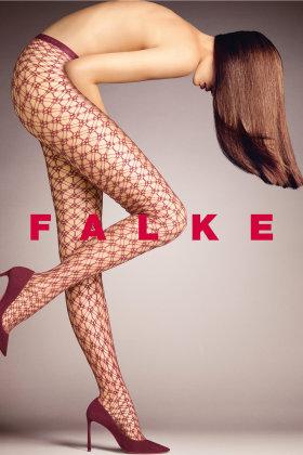 FALKE - Blackout - Grovmasket - Aubergine