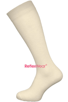 REFLEXWEAR - Rejsestrømpe - Terapeutisk - Beige