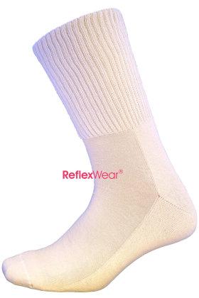 REFLEXWEAR - Diabetes & Komfort - Celliant - Tyk Ankel Model - Beige