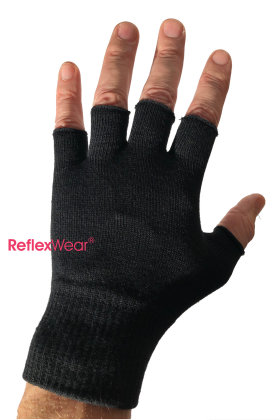 REFLEXWEAR - Vanter - Åbne Fingre - Celliant - Sort