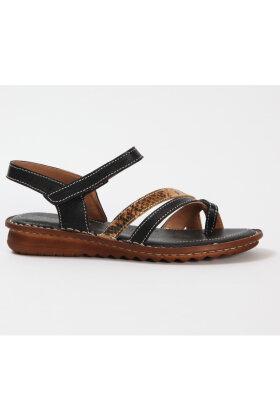 RELAXSHOE - Tå Sandal - Sort