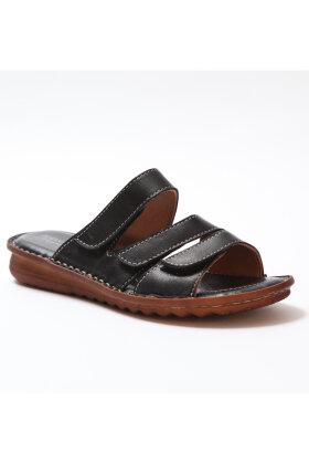 RELAXSHOE - Slip-in Sandal - Sort