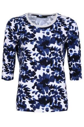 MICHA - T-shirt - Bluse - Mørkeblå