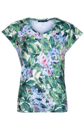 MICHA - Lang T-shirt - Grøn