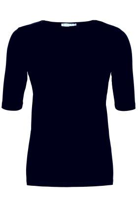 MICHA - Basis T-shirt - Mørkeblå