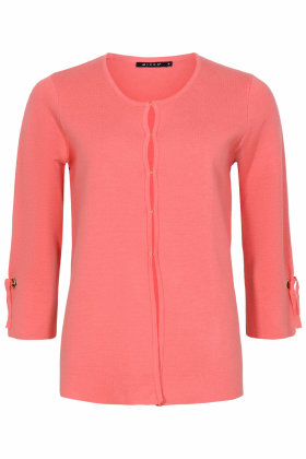 MICHA - Strikket Cardigan - Coral