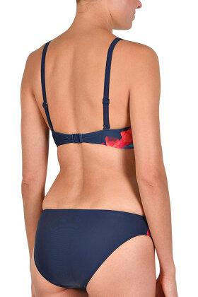 NATURANA - Multicolor Bikini Tai - Mørkeblå