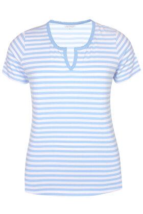 ZHENZI - Eyck 220 - T-shirt - Lyseblå