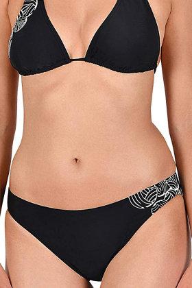 NATURANA - Trekants Bikini Trusser - sort