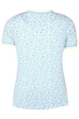 ZHENZI - Giya 226 - T-shirt - Lyseblå