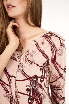 SOYACONCEPT - Sc Felicity Aop 288 - T-shirt - Bordeaux