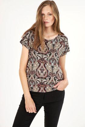 SOYACONCEPT - Sc Marica Aop 113 - T-shirt - Sort