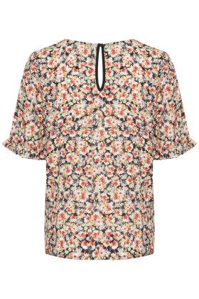 PULZ - Kenya Blomstret Bluse