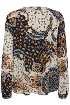 SOYACONCEPT - Kiana 2 Bluse - Print - Marine