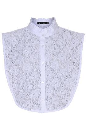 MICHA - Snyde Skjorte - Blonde Mandarin - Hvid