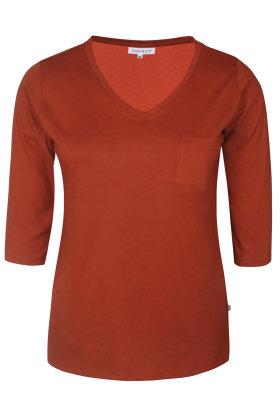ZHENZI - Alberta 301 - T-shirt - Rust