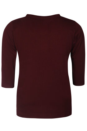 ZHENZI - Alberta 301 - T-shirt - Bordeaux