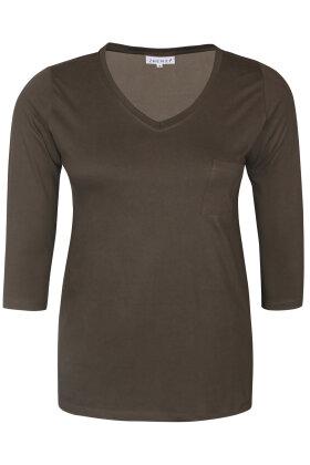 ZHENZI - Alberta 301 - T-shirt - Army Grøn