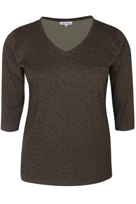 ZHENZI - Alberta 302 - T-shirt - Army Grøn