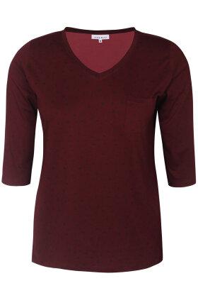 ZHENZI - Alberta 302 - T-shirt - Bordeaux