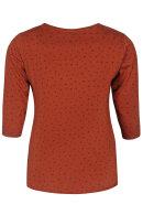 ZHENZI - Alberta 302 - T-shirt - Rust