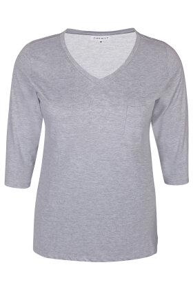 ZHENZI - Alberta 302 - T-shirt - GRÅ