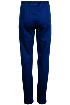 SIGNATURE - Jeans Elastiske - Mørk Denim