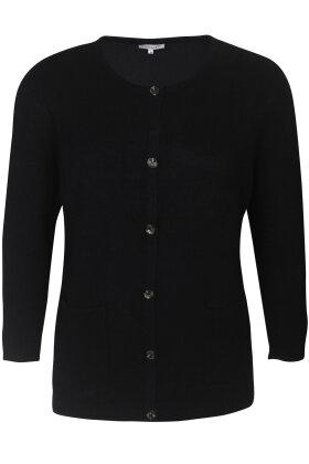 ZHENZI - Vita 320 - Strik Cardigan - Sort