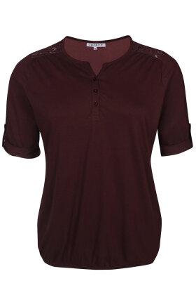ZHENZI - Agna 811 -  Basis T-shirt - Blomme