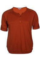 ZHENZI - Agna 811 -  Basis T-shirt - Rust