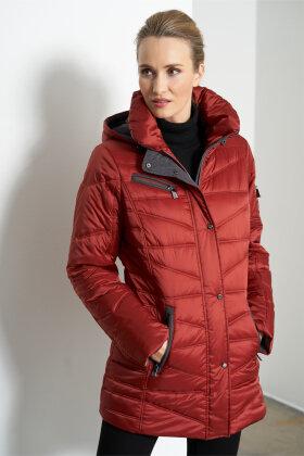 JUNGE - Clea - Quiltet Vinterjakke - Rust