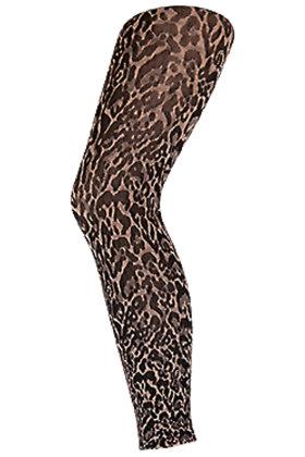 DECOY - Leopard leggins capri 70D