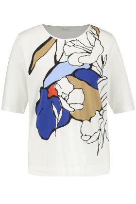 GERRY WEBER - T-shirt - Print - Modal  - Off White