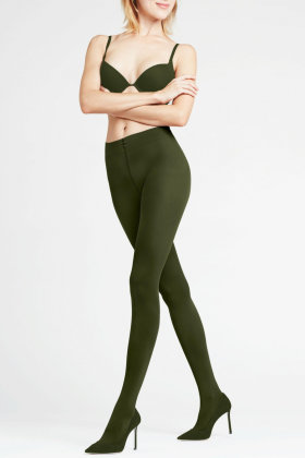 FALKE - Pure Matt Tights 50 Denier - Grønne