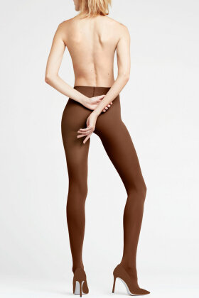 FALKE - Pure Matt Tights 50 Denier - Mellem Brun
