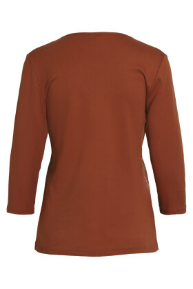 SIGNATURE - 3/4 Ærmet T-shirt - Rust