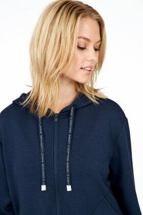 SOYACONCEPT - Banu 11 - Hættetrøje - Sweatshirt - Mørkeblå