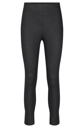 SOYACONCEPT - Nero - Skind Look - Super Slim Fit Bukser - Sort