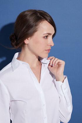 ETERNA - Skjorte - Classic Stretch - Hvid
