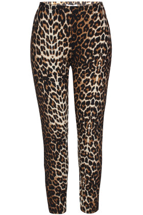 ZHENZI - Leopard Leggings - Brun